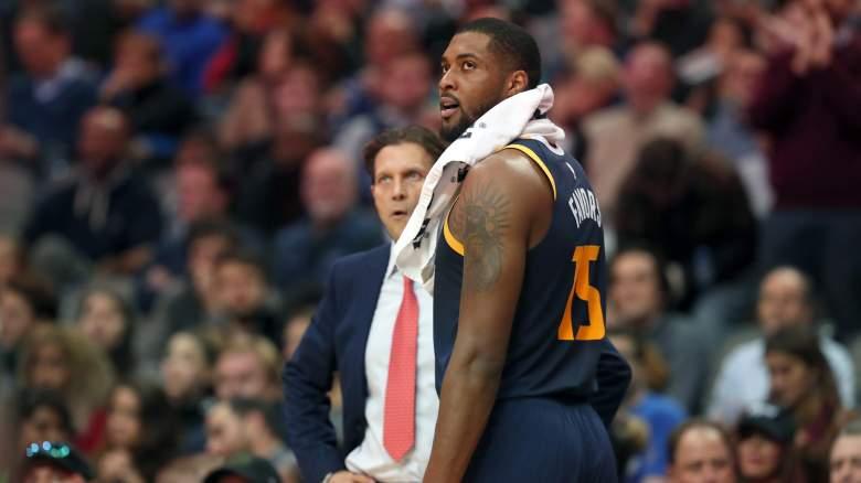 Derrick Favors Lakers