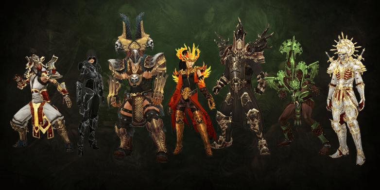Diablo 3 Season 17 Class Sets