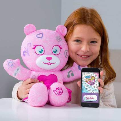 Doodle Bear The Original Plush Toy with 3 Washable Markers