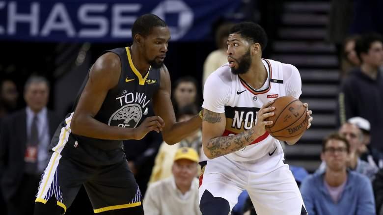 Boston Celtics Anthony Davis Kevin Durant trade free agency
