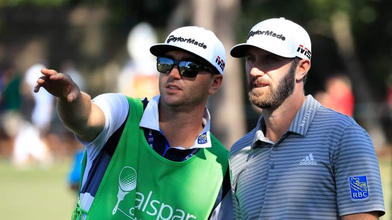 Dustin Johnson caddie Austin Johnson salary