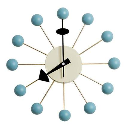 george nelson blue ball clock