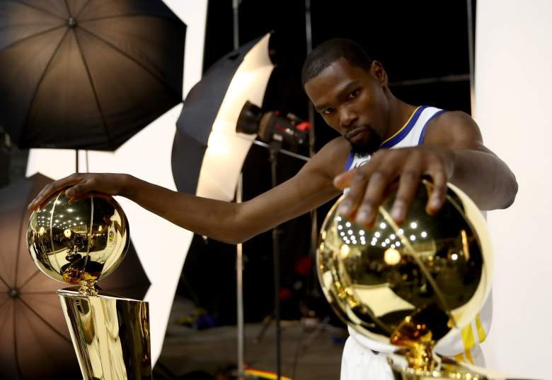 Kevin Durant rings
