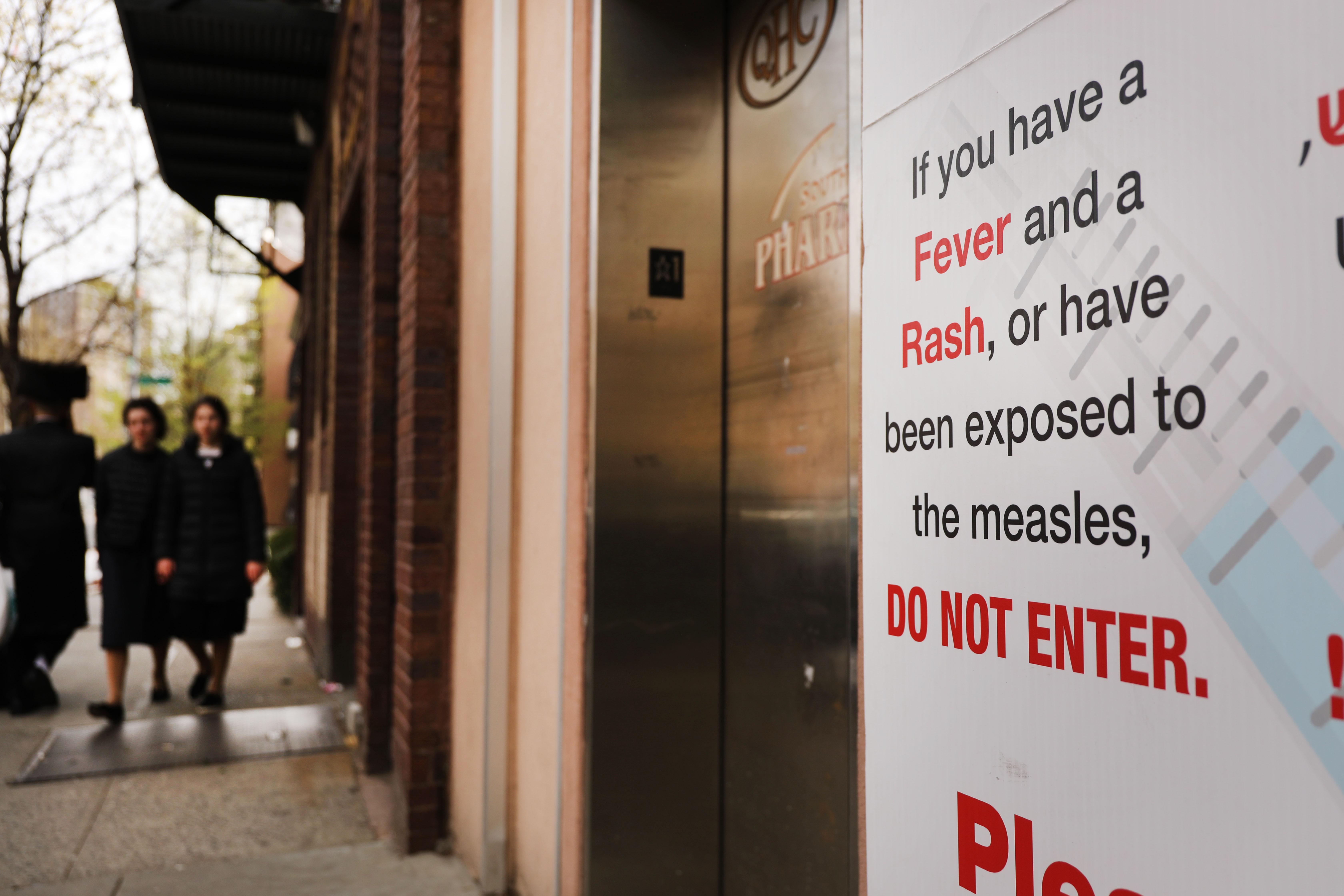 Scientology measles