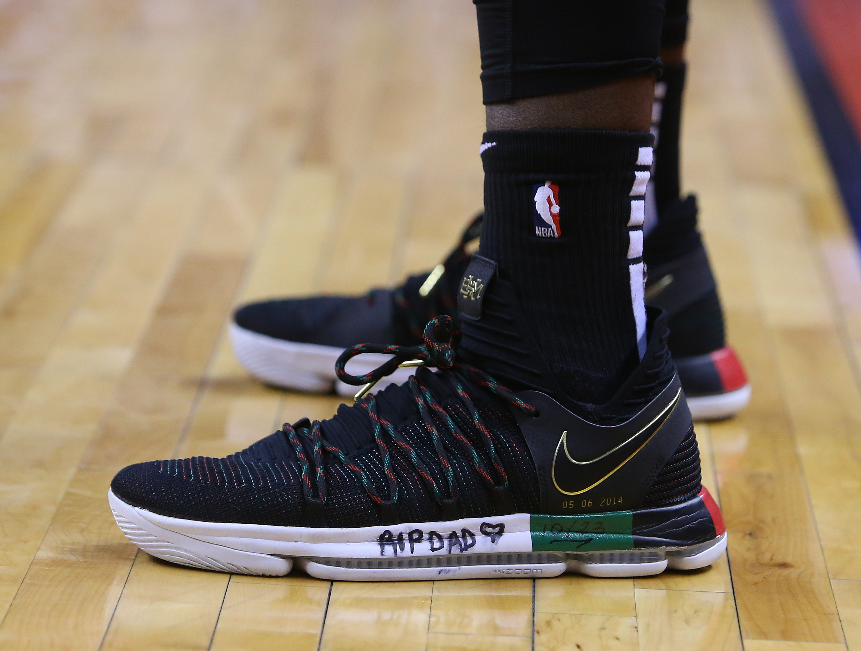 Pascal Siakam's Shoes: What's Written on Them?