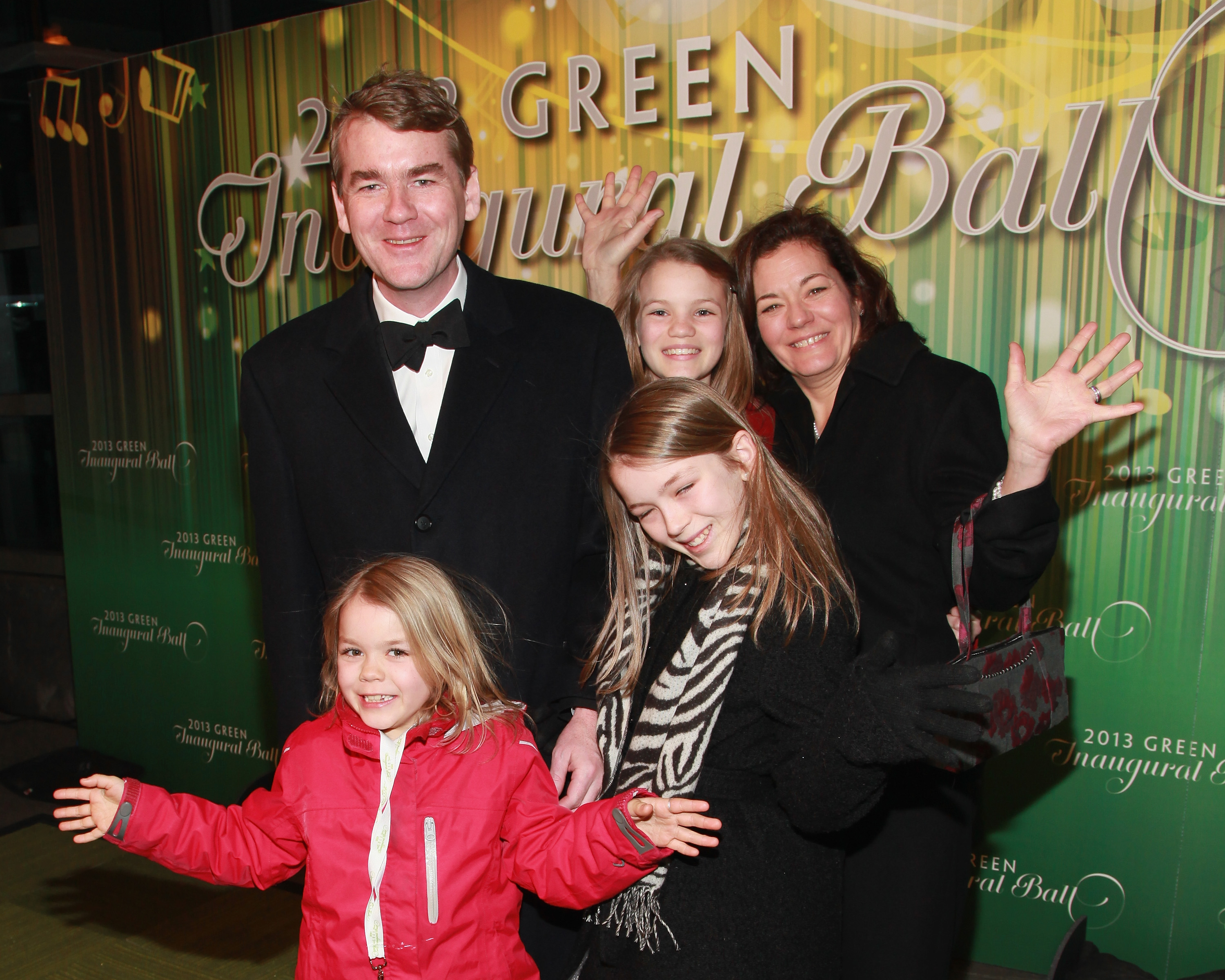 Michael Bennet and Susan Daggetts family