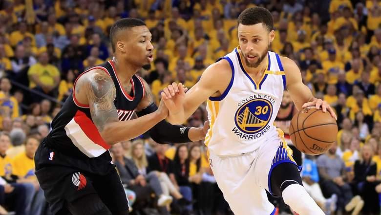 Warriors vs. Blazers/Nuggets