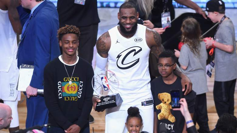 WATCH: Bronny James Says 'F*ck These H*es' on Instagram