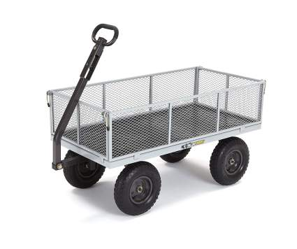 Gorilla Carts Heavy-Duty Steel Utility Cart