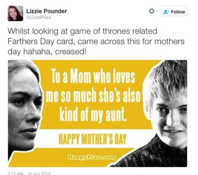 Game of Thrones Mother's Day Memes