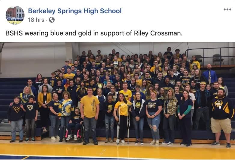 Riley Crossman Berkeley Spring High School