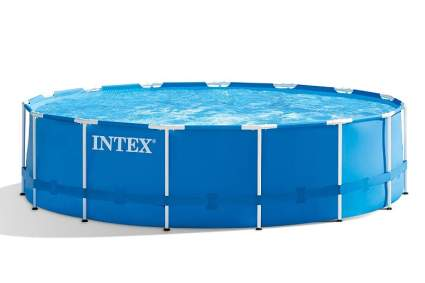 Intex 15ft X 48in Metal Frame Pool Set with Filter Pump