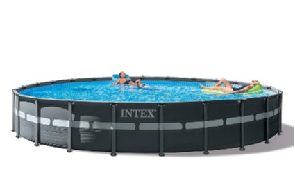 Intex 26339EH Ultra XTR Set Above Ground Pool, 24ft X 52in