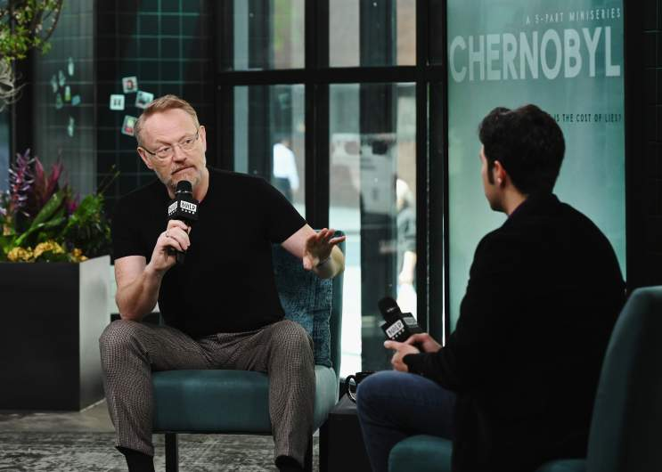 Jared Harris discusses role as Valery Legasov on Chernobyl