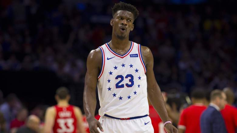 76ers roster starting lineup Jimmy Butler trade Al Horford