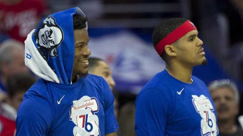 Philadelphia 76ers free agency Jimmy Butler Tobias Harris