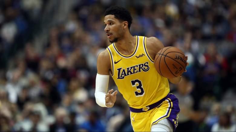 Lakers Anthony Davis Trade Josh Hart Reaction
