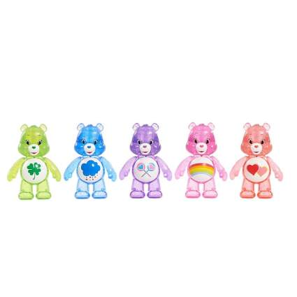 Just Play Care Bears Glitter Fun Figure Set (5 Pack)