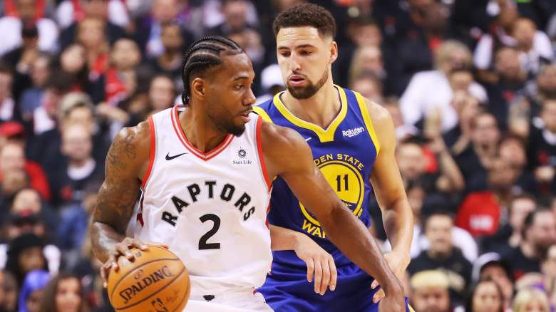 Warriors Raptors NBA Finals Game 2 prediction pick betting line odds