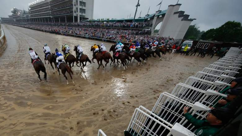 Kentucky Derby betting win place show horse racing