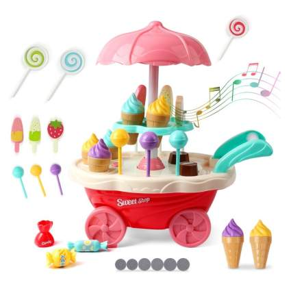 KIDCHEER Ice Cream Candy Trolley