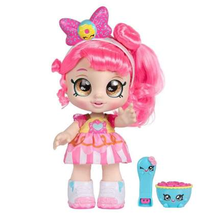 Kindi Kids Snack Time Friends, Pre-School 10 inch Doll - Donatina