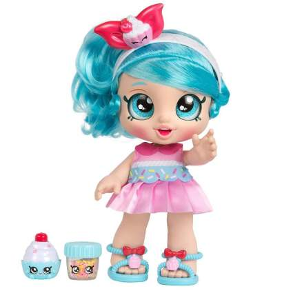 Kindi Kids Snack Time Friends, Pre-School 10 inch Doll - Jessicake