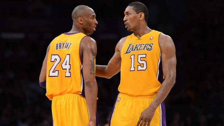 Lakers Kobe Bryant Metta World Peace Most Clutch Player