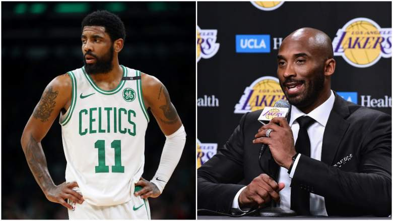 Lakers Kyrie Irving NBA free agency Kobe Bryant