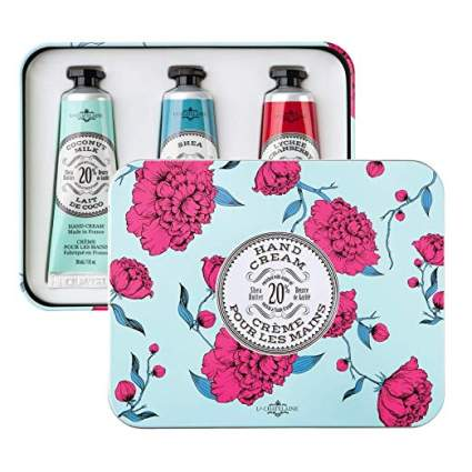 La Chatelaine 20% Shea Butter Hand Cream Tin Gift Set