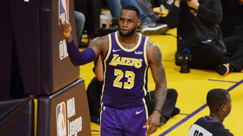 Lakers Free Agency LeBron James