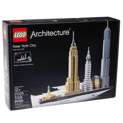 LEGO Architecture New York City 21028, Build It Yourself New York Skyline Model Kit