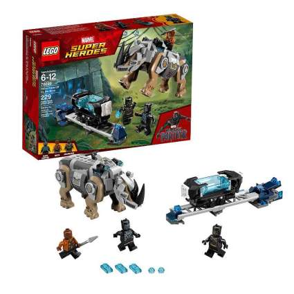 LEGO Marvel Super Heroes Rhino Face-Off by the Mine