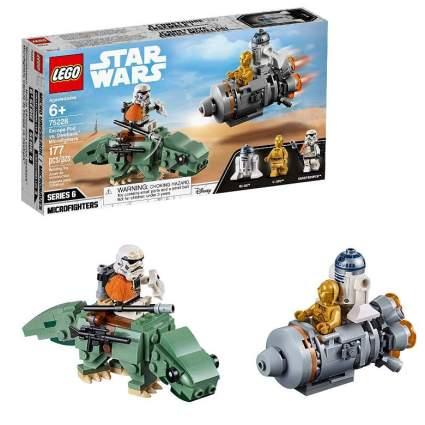 LEGO Star Wars: A New Hope Escape Pod vs. Dewback Microfighters