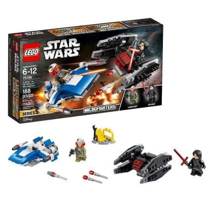 LEGO Star Wars: The Last Jedi A-Wing vs. TIE Silencer Microfighters
