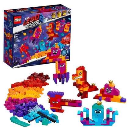 LEGO The LEGO Movie 2 Queen Watevra's Build Whatever Box!