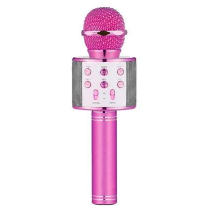 LET'S GO! DIMY Wireless Portable Handheld Bluetooth Karaoke Microphone