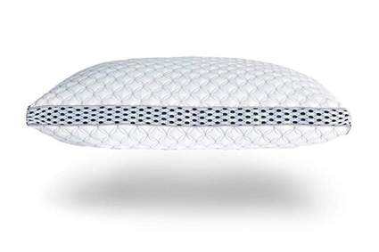 memory foam bamboo cooling pillow