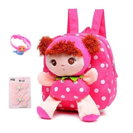 Little-Sweet Cute Toddler Backpack Plush Doll