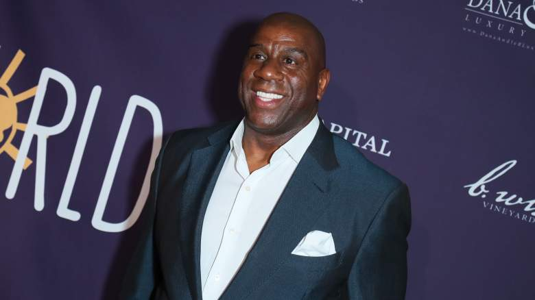 Magic Johnson Lakers Interview Video