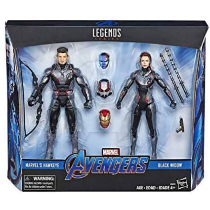 Marvel Legends Avengers Endgame Hawkeye and Black Widow 2 Pack