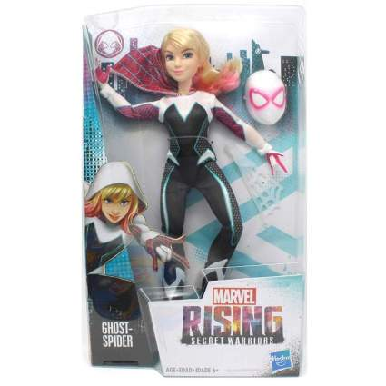Marvel Rising Secret Warriors Ghost-Spider Gwen Stacy 11-Inch Adventure Action Figure Doll