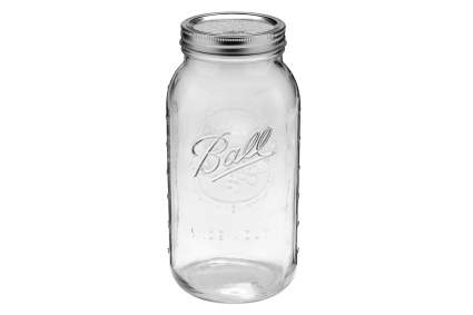 Mason jar for weed container