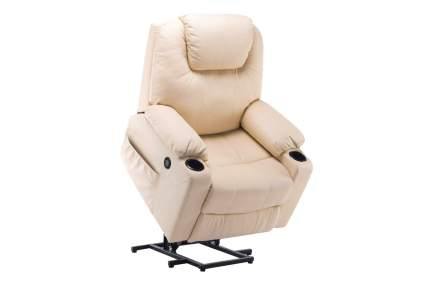 Mcombo Electric Power Lift Massage Sofa Recliner Heated Chair Lounge