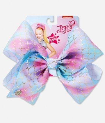 mermaid jojo bow