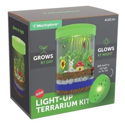 Mini Explorer Light-up Terrarium Kit for Kids