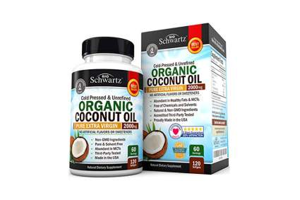 organic coconut oil supplement