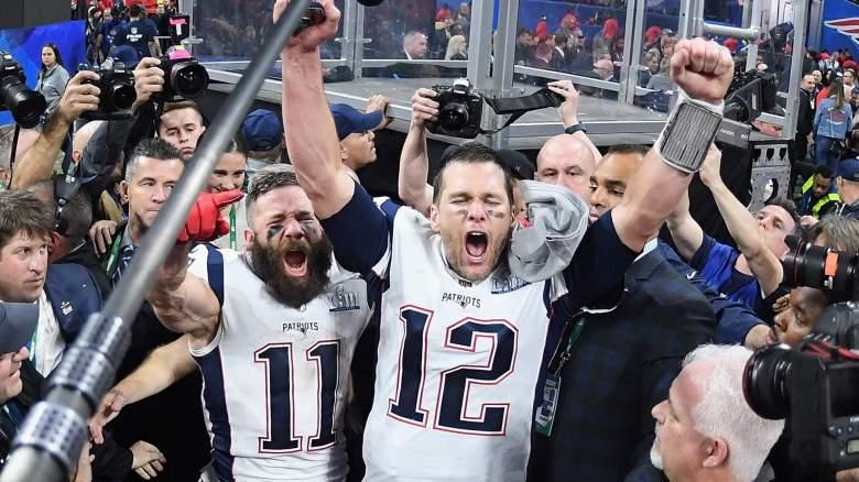 Patriots Tom Brady Julian Edelman
