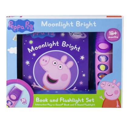 Peppa Pig - Moonlight Bright Book and Flashlight Set - PI Kids