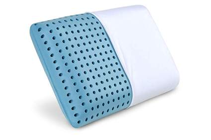 hole punch cooling memory foam pillow